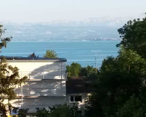 Blick Balkon Immenstaad am Bodensee