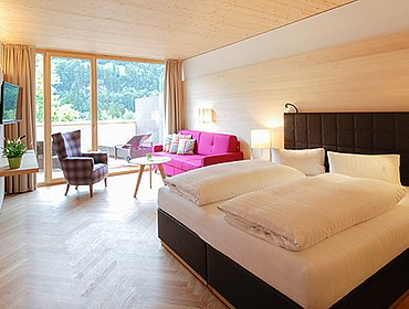 Juniorsuite Freigeist Gesundhotel Bad Reuthe Reuthe