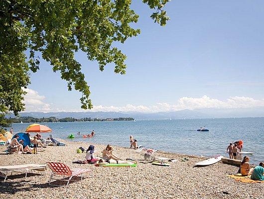 Camping Direkt Am See Bodenseeferien De