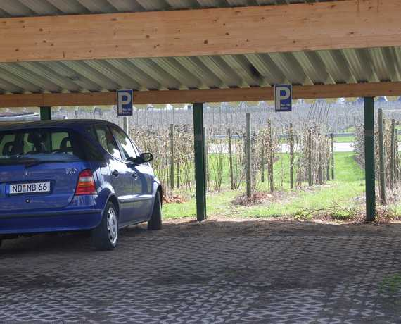 Carport Wasserburg