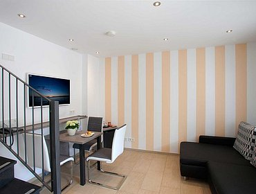 Juniorsuite_EG Hotel Cafe Ebner Lindau am Bodensee