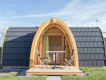 Mobilheim - PODhouses Camping Seehorn Egnach